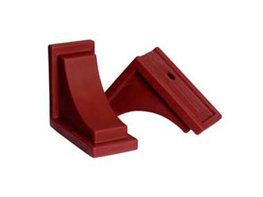 Picture of Nantucket Decorative Brackets Red (2pk)