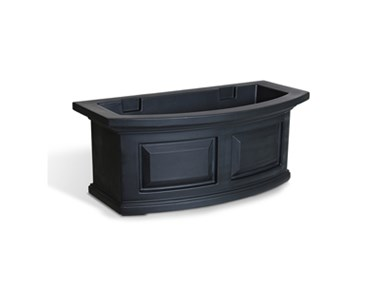 Picture of Nantucket Window Box 2FT Black