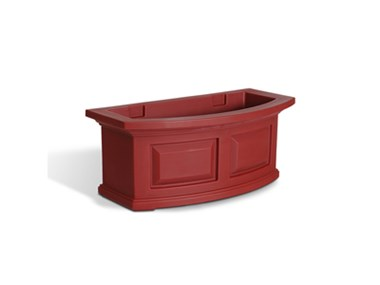 Picture of Nantucket Window Box 2FT Red