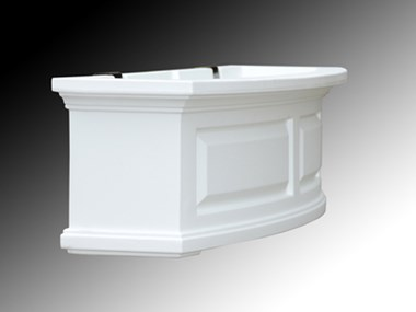 Picture of Nantucket Window Box 2FT White