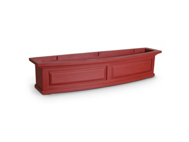 Picture of Nantucket Window Box 4FT Red