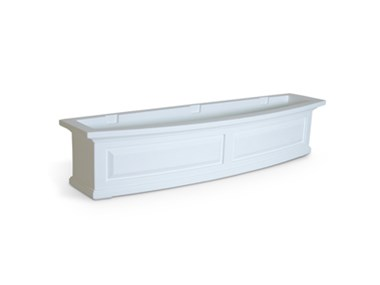 Picture of Nantucket Window Box 4FT White