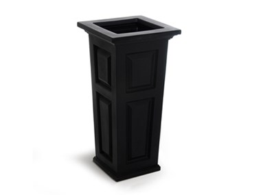 Picture of Nantucket Tall Planter Black