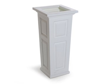Picture of Nantucket Tall Planter White