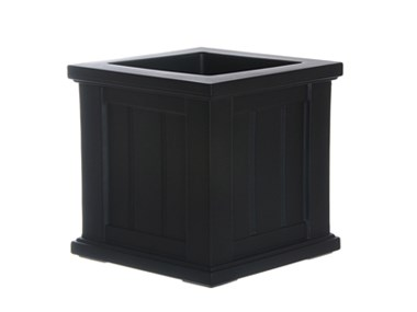 Picture of Cape Cod Patio Planter 14x14 Black
