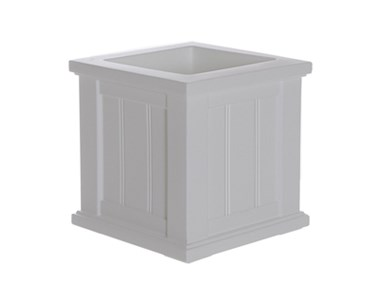 Picture of Cape Cod Patio Planter 14x14 White