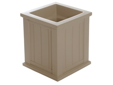 Picture of Cape Cod Patio Planter 16x16 Clay