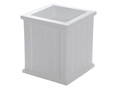 Picture of Cape Cod Patio Planter 16x16 White