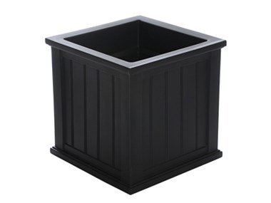 Picture of Cape Cod Patio Planter 20x20 Black