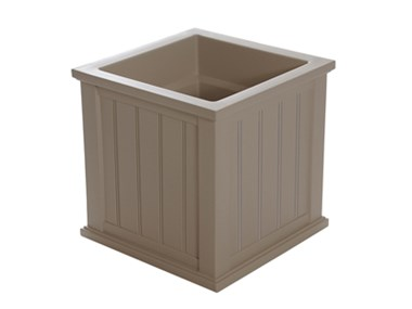 Picture of Cape Cod Patio Planter 20x20 Clay