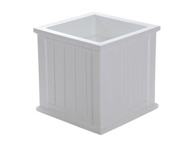 Picture of Cape Cod Patio Planter 20x20 White