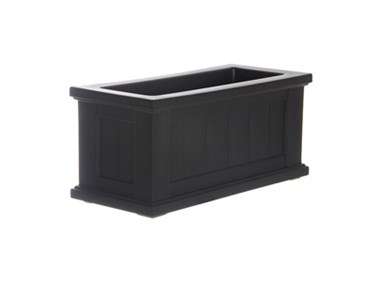Picture of Cape Cod Patio Planter 24x11 Black