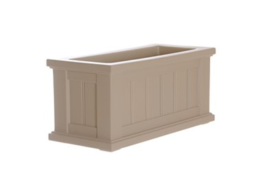 Picture of Cape Cod Patio Planter 24x11 Clay