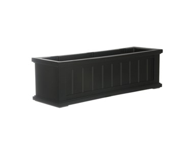 Picture of Cape Cod Window Box 3FT Black