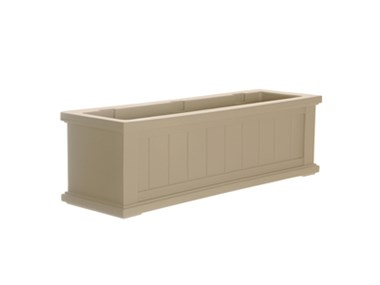 Picture of Cape Cod Window Box 3FT Clay