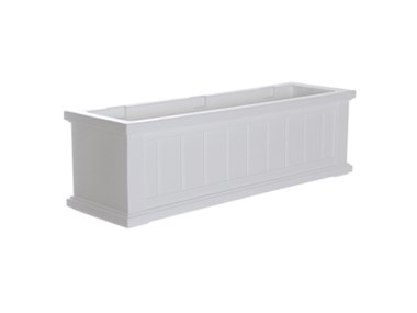 Picture of Cape Cod Window Box 3FT White