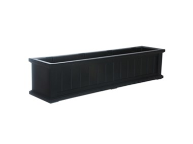 Picture of Cape Cod Window Box 4FT Black