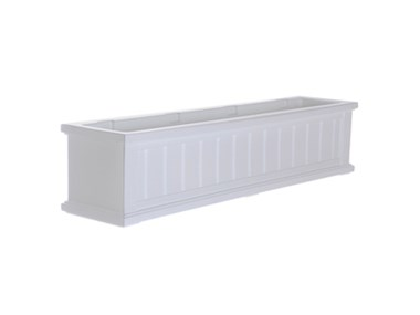 Picture of Cape Cod Window Box 4FT White