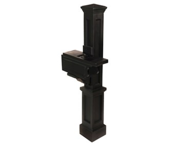 Picture of Rockport Single Mail Post Black