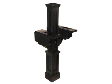 Picture of Rockport Double Mail Post Black