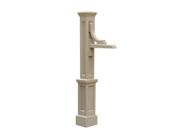 Picture of Woodhaven Address Sign Post Clay
