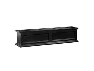 Picture of Fairfield Window Box 4FT Black