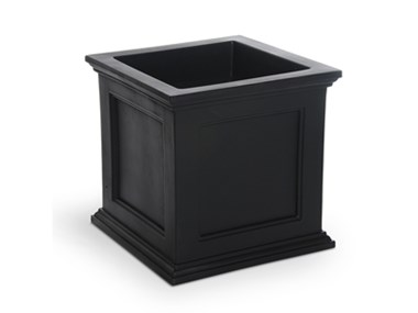 Picture of Fairfield Patio Planter 20x20 Black