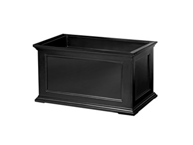 Picture of Fairfield Patio Planter 20x36 Black