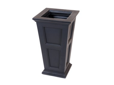 Picture of Fairfield Tall Planter Black