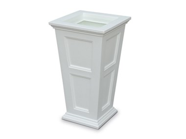 Picture of Fairfield Tall Planter White