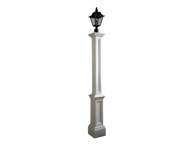 Picture of Signature Lamp Post WH w/Mount