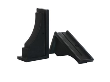 Picture of Fairfield Decorative Brackets Black (2pk)