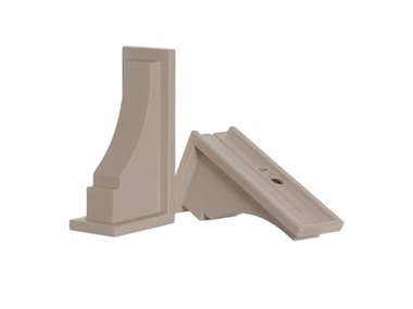 Picture of Fairfield Decorative Brackets Clay (2pk)