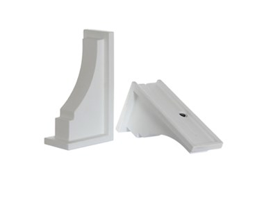 Picture of Fairfield Decorative Brackets White (2pk)