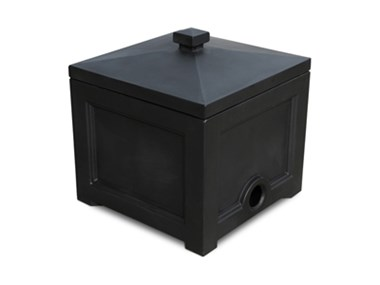 Picture of Fairfield Garden Hose Bin Black