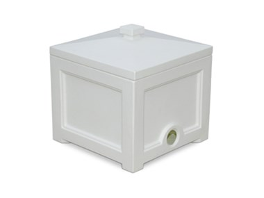 Picture of Fairfield Garden Hose Bin White