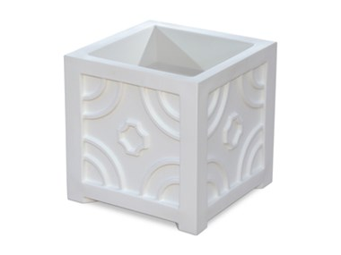 Picture of Savannah Patio Planter 16x16 White