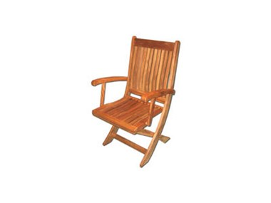 Picture of Classic Dining Arm Chair - Folding