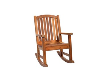 Picture of Curved Back Rocking Chair