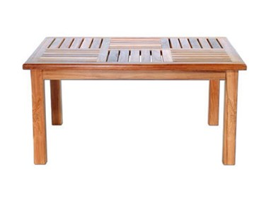 Basket Weave Coffee Table Large