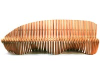 Picture of Wing / Shoulder Straight Bench-132''W x 27''D x 32''H