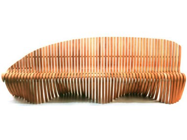 Picture of Wing / Shoulder Straight Bench- 75''W x 27''D x 32''H