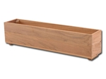Picture of Teak Window Planter Box - 8''H x 8''W x 36''L