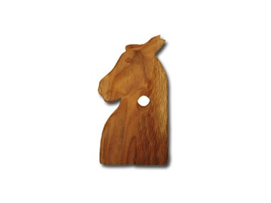 Picture of Horse Head Wine Bottle Holder