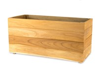 Picture of Teak Window Planter Box - 12''H x 12''W x 24''L
