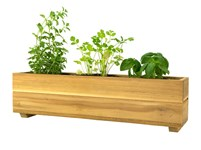 Picture of Teak Herb Planter Box - Attribute Variants