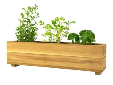 Picture of Teak Herb Planter Box - Attribute Variants